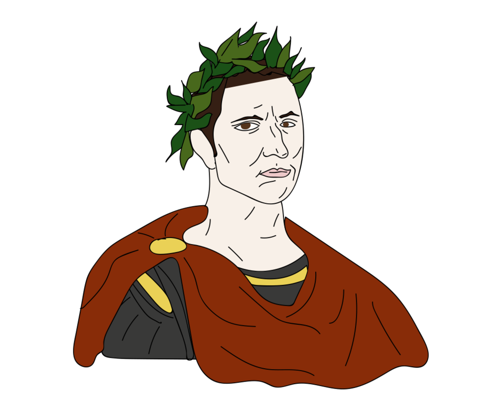 Ides of March, Julius Caesar illustration