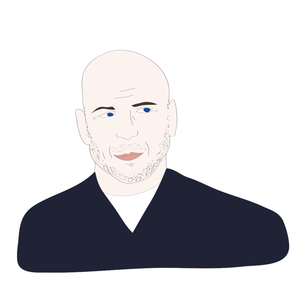 Bruce Willis illustration