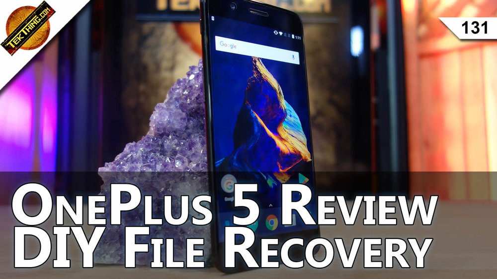 OnePlus 5 Review, Recover Erased Files, Find Your First Computer