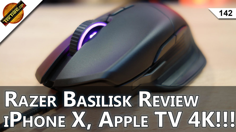 Razer Basilisk FPS Gaming Mouse Review, $999 iPhone X, Equifax Hack