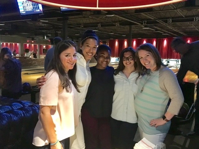 Bowling Night... - HLGstudio gathered at The Painted Pin on Thursday night to have a little out of the office fun.  Roger once again proved to be the Wizard, while we did our best to catch him.  With style and grace, our spirited Cara taught us the