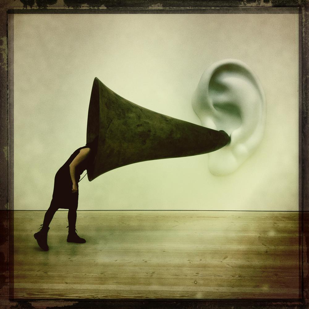 """ Listen Carefully "" by  Justin Lynham is licensed under  CC 2.0"