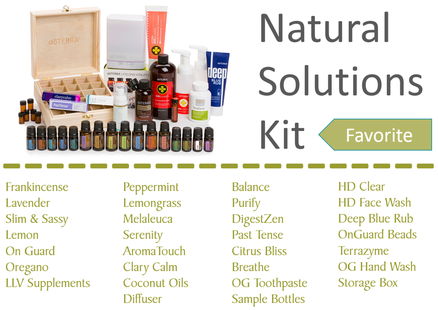This is my FAVOURITE kit and this is what I started with! This up-hauled my kitchen and bathroom and completely got rid of toxic/chemical based products and replaced with healthy, natural, toxic free products and VERY EFFECTIVE with added health and emotional benefits. AMAZING STARTER KIT!!