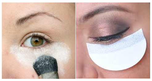 Left - Powder method. Right - Shadow Shields