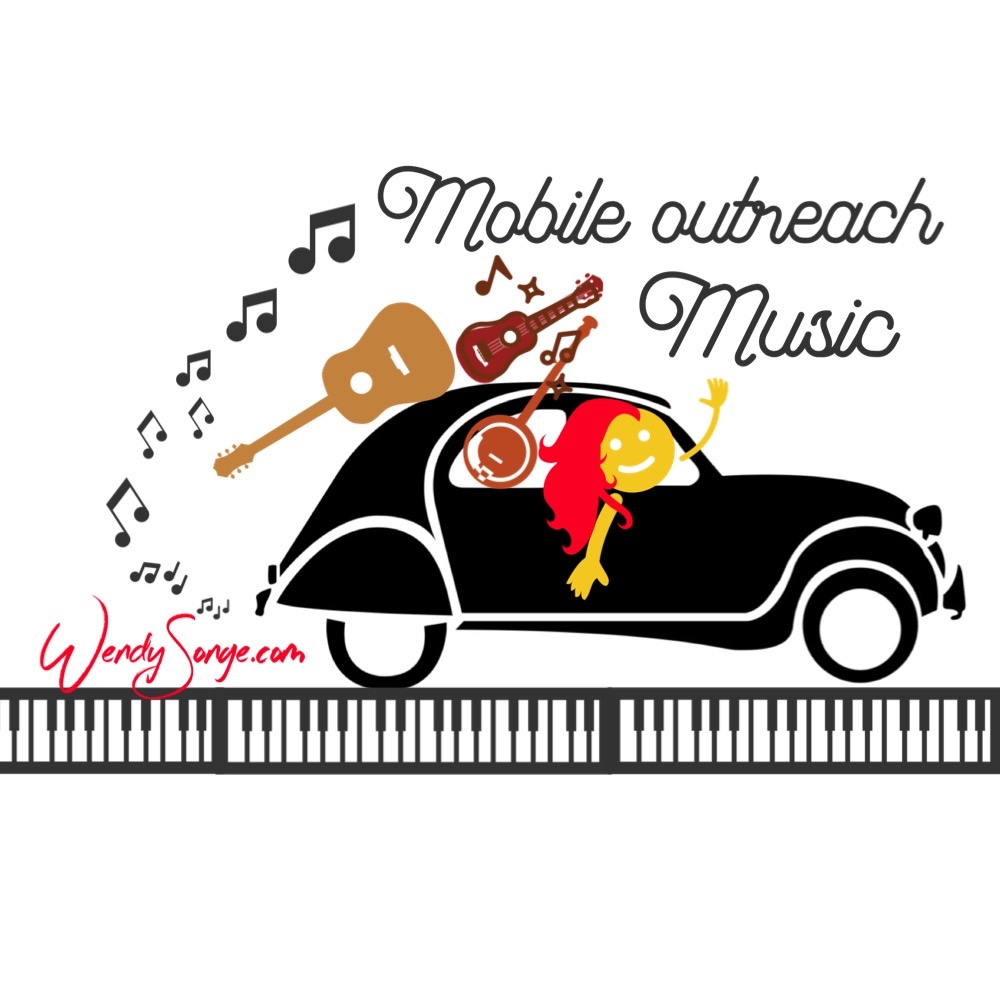 Mobile Outreach Music is a hands-on mission, founded and provided by Wendy Songe; serving people in need and non-profit support agencies throughout the greater Tulsa area.  Mobile Outreach Music was founded in the Spring of 2015, as a Pay-it-forward project for OASIS Adult Day Services for adults with disabilities, and has grown to include The Coffee Bunker Veterans Service Center, private hospice patients, and home-bound seniors living with Alzheimer's & Dementia.  The purpose of Mobile Outreach Music is to bring joy and healing to those in need, through music.  Services include twice-weekly mountain dulcimer classes to veterans at The Coffee Bunker, weekly ukulele sing-alongs to adults with disabilities at OASIS Adult Day Services, soothing music & private visits to private Hospice patients, and music & memory care to home-bound seniors living with Alzheimer's & Dementia.  Mobile Outreach Music provides these services free of charge to it's recipients and is solely supported by private donations and community fundraisers.  To date, Mobile Outreach Music has provided over 1,000 hours of free music enrichment to those in need, and has affected hundreds of lives through its outreach.  Through generous donations, Mobile Outreach Music has also provided free musical instruments, music stands, picks, capos, learning materials, listening equipment and opportunities for personal enrichment to its beneficiaries.     For more information about Mobile Outreach Music, or to schedule a Mobile Outreach Music visit for your loved one or non-profit agency, please contact Wendy Songe directly at 918-902-3300 OR visit  www.patreon.com/wendysonge  to become a PATRON today!  THANK YOU FOR SUPPORTING MOBILE OUTREACH MUSIC!