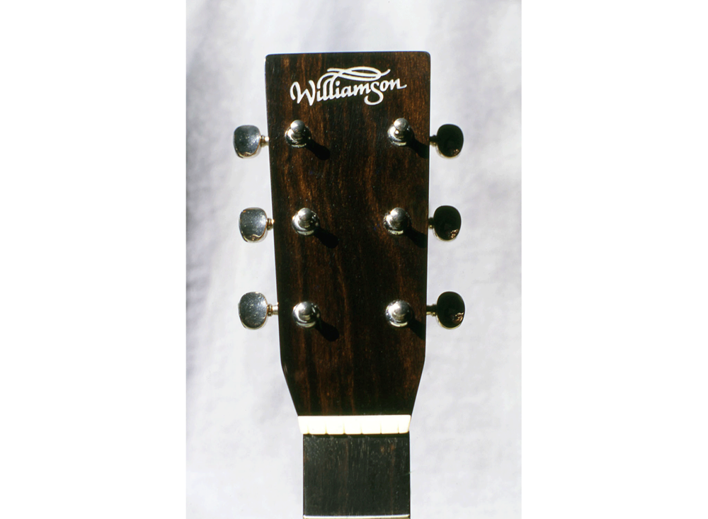 Williamson Guitars Logo on Headstock