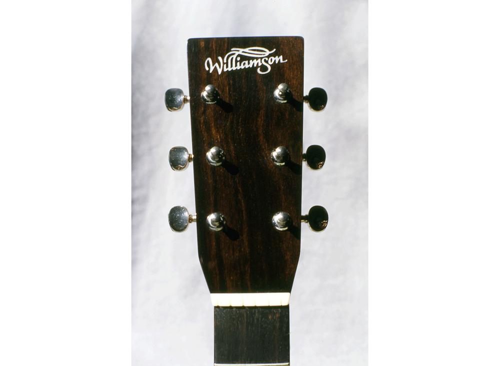 Williamson Guitars Logo on Headstock
