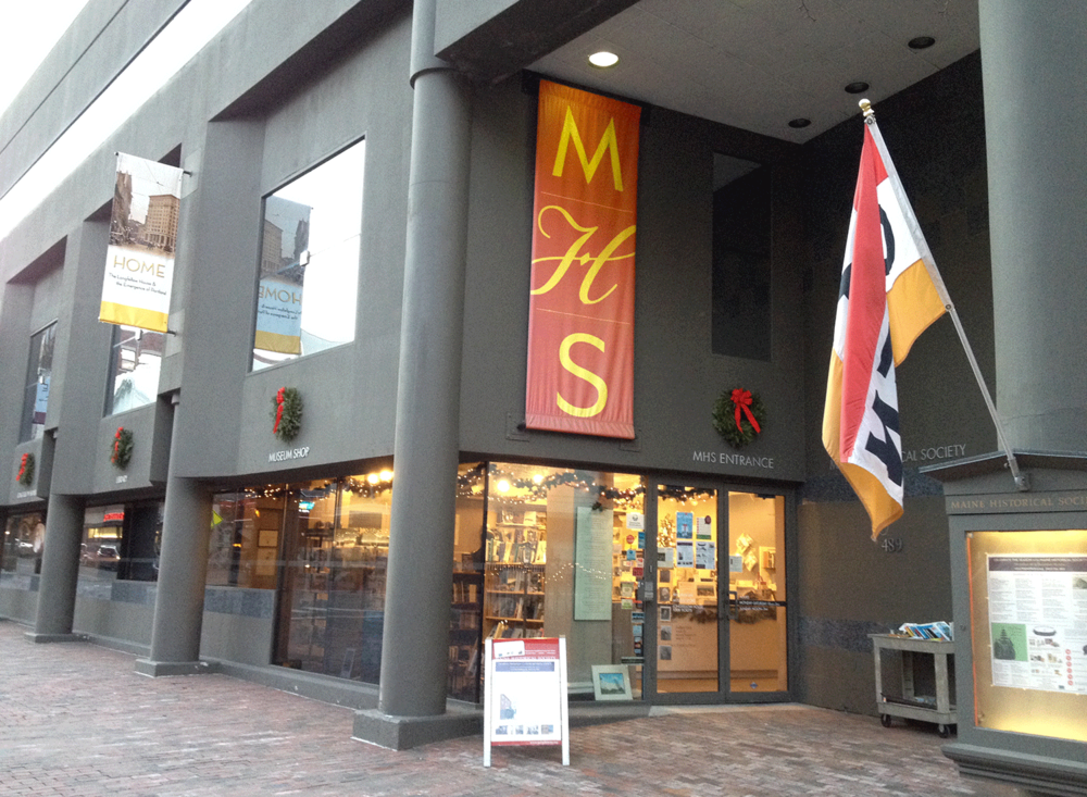 Maine Historical Society, Banner
