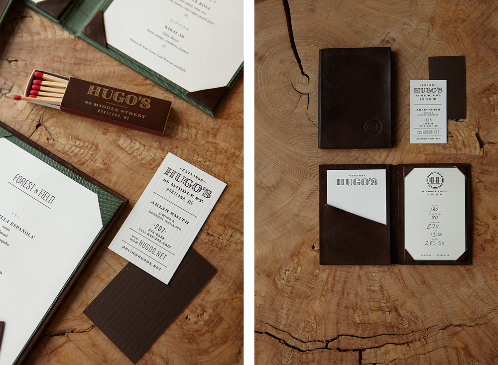 Hugo's Logotype, Various Collateral