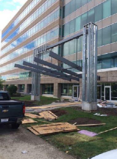 Canopy Framing Progess