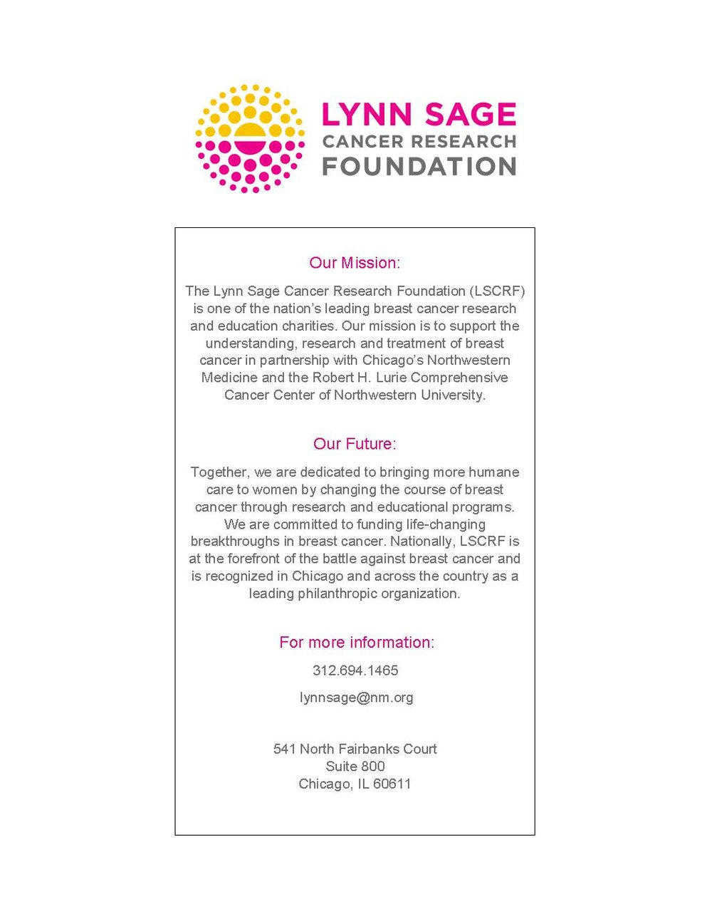 LSCRF Flyer - Light the Way Campaign.jpg