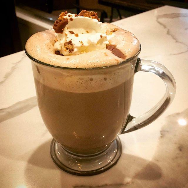 Chocolate Peanut butter Mocha! Perfect 👌