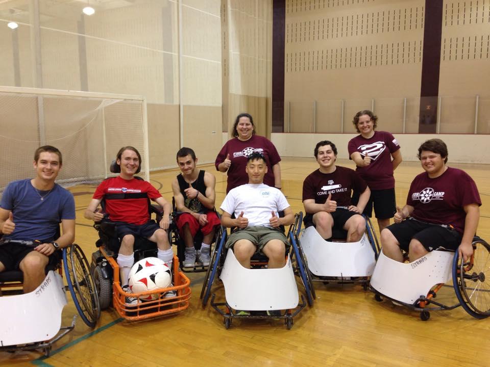 Photo courtesy of Aggie Adaptive Sports