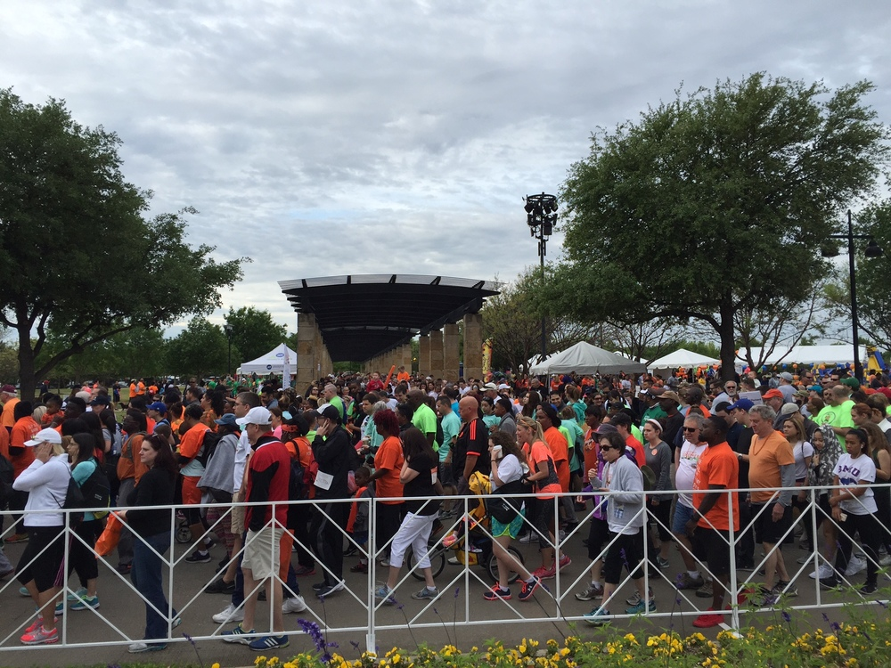 Photo courtesy of WALK MS Dallas & Fort Worth