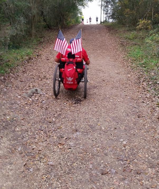 Brazos Bend 100, Half Marathon, December 2015