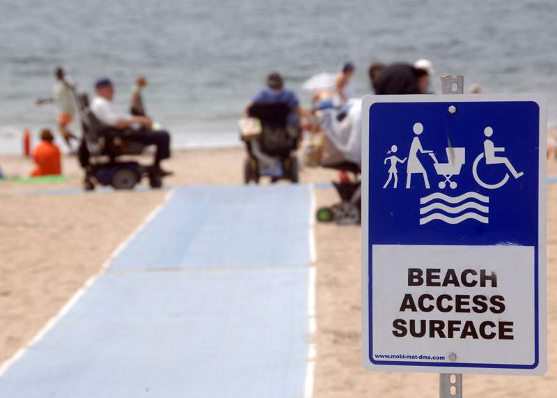 Photo courtesy of: https://www.nycgovparks.org/accessibility/beach-trail