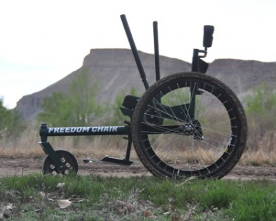 Fully assembled GRIT Freedom Chair!