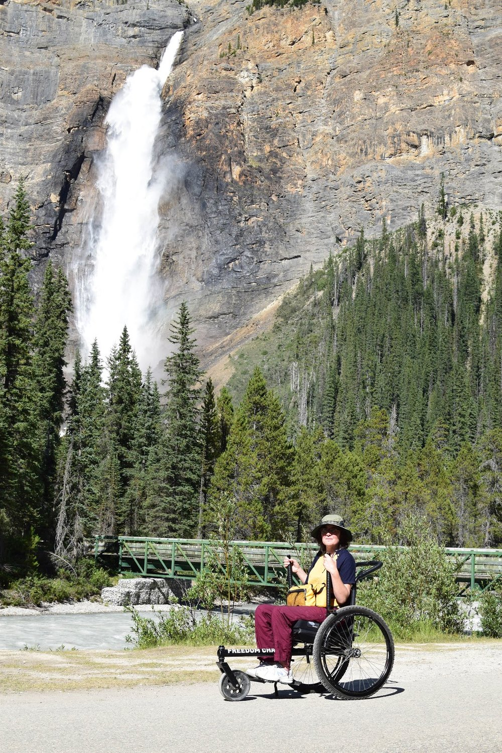 Tak Falls in Yoho National Park