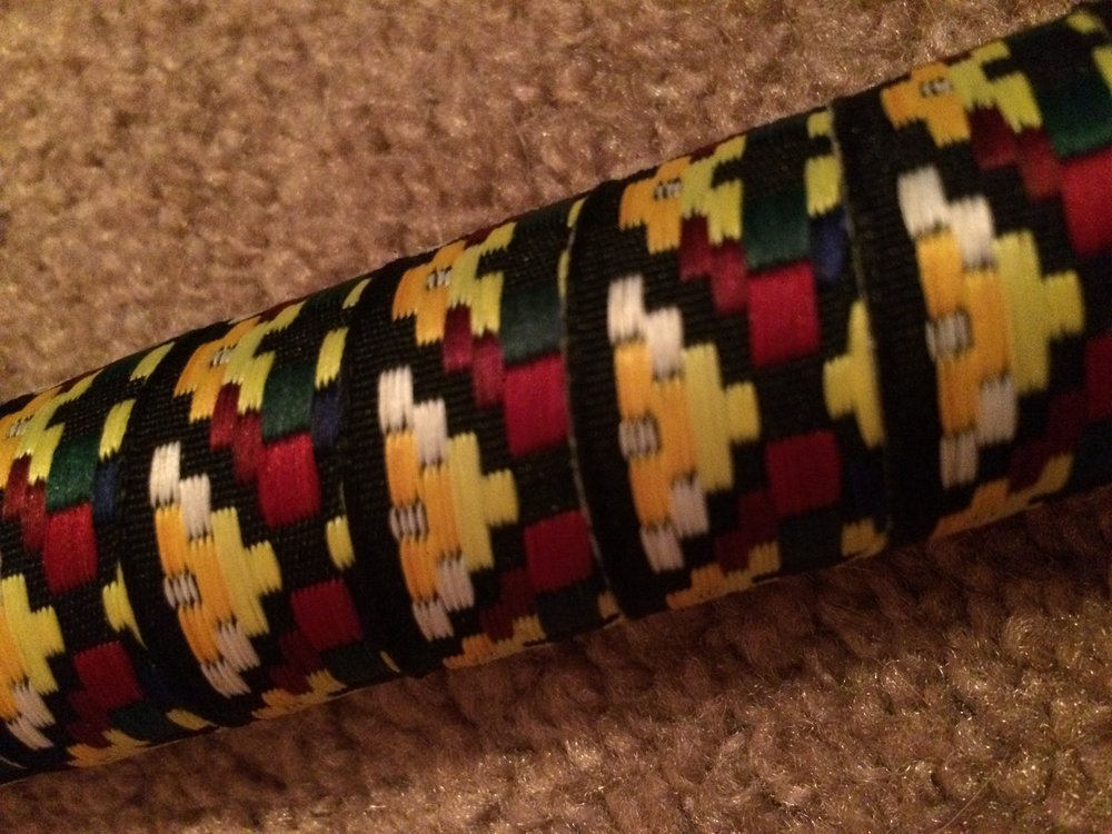 Close up of the Woven Tape!