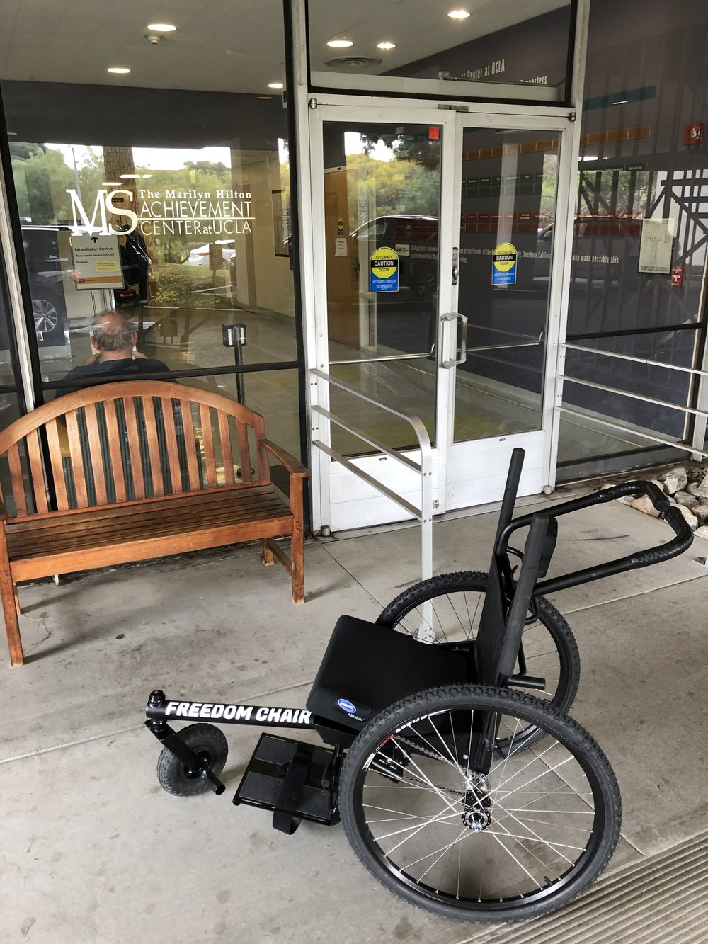 GRIT Freedom Chair at The Marilyn Hilton MS Achievement Center at UCLA
