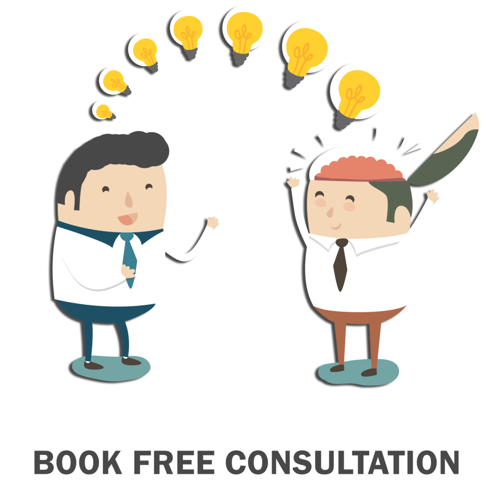 book free consultation for marketing advice