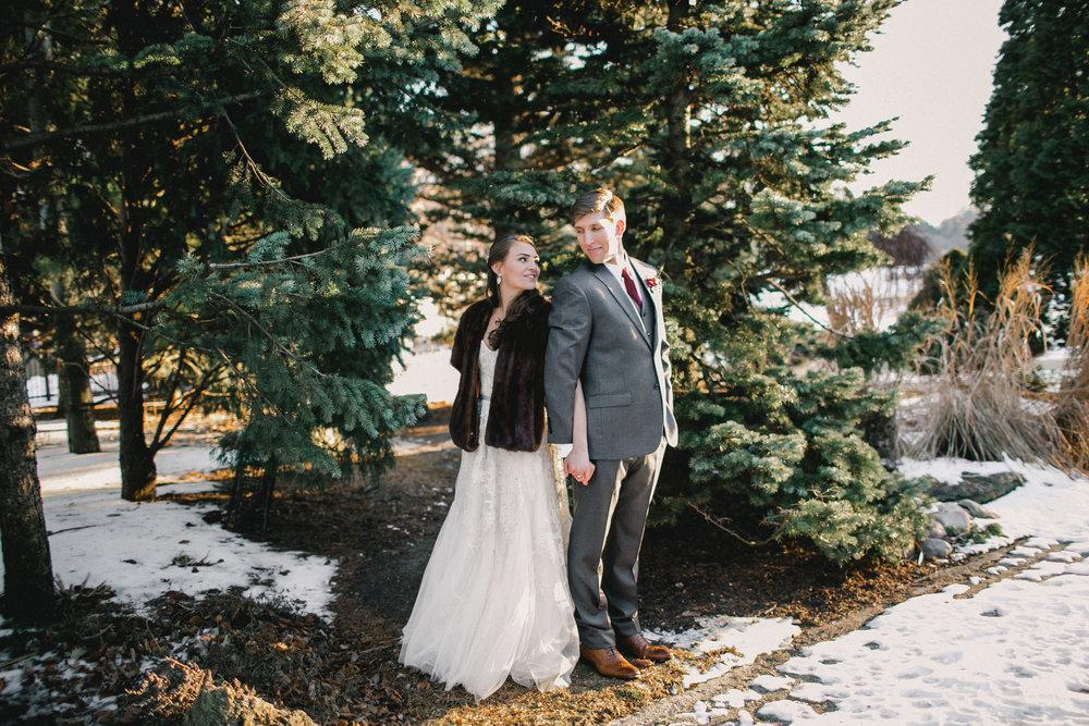 Winter Snowy Wedding