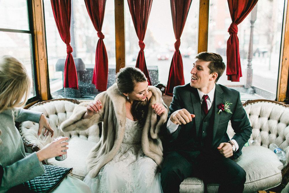 Winter Wedding Portraits Mayden Photography Washington Dancing