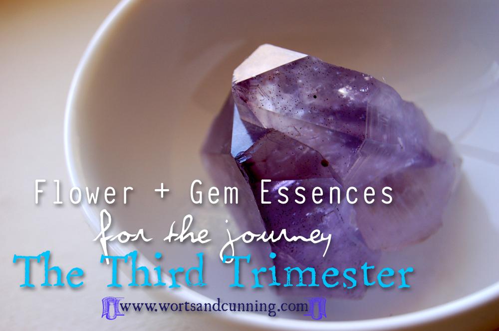 Third Trimester Flower Gem Essences