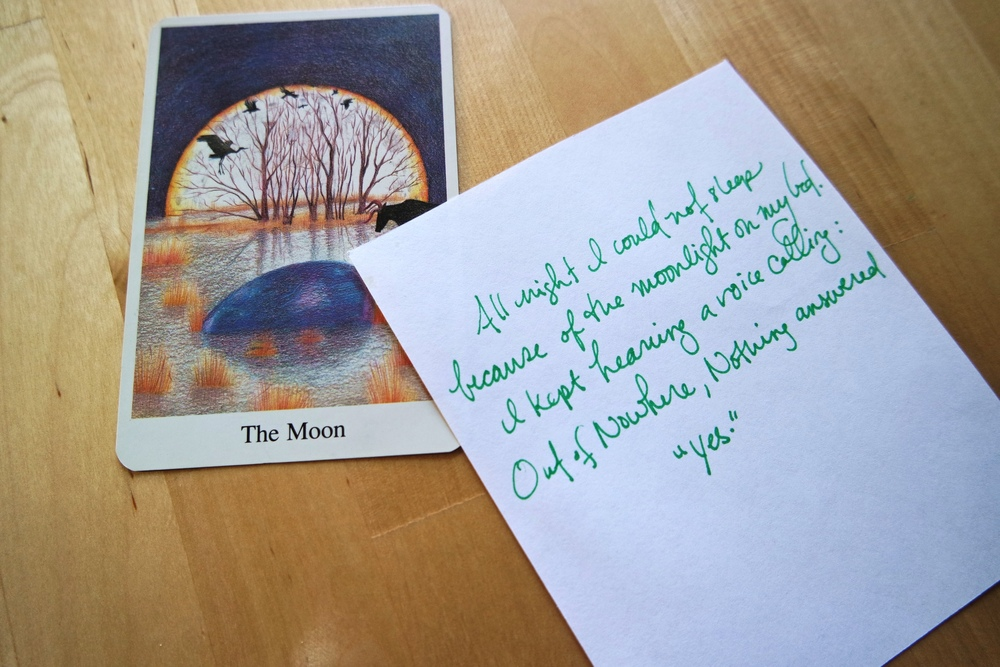Creating poetry spreads with the Greenwood Tarot by Chesca Potter + poetry from the Zi Ye