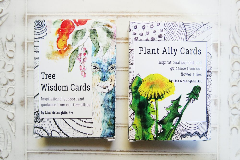 plant ally tarot wisdom cards oracle review