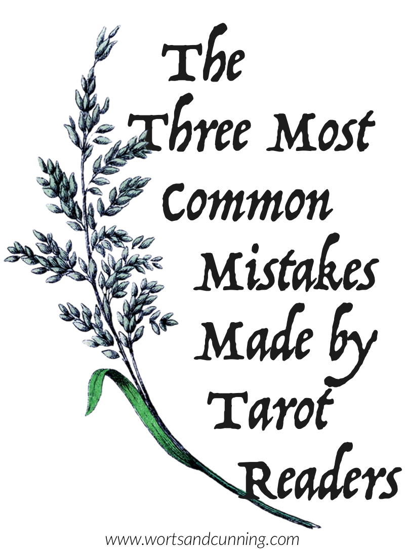 tarot mistakes