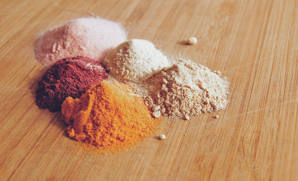 herbal powders powder