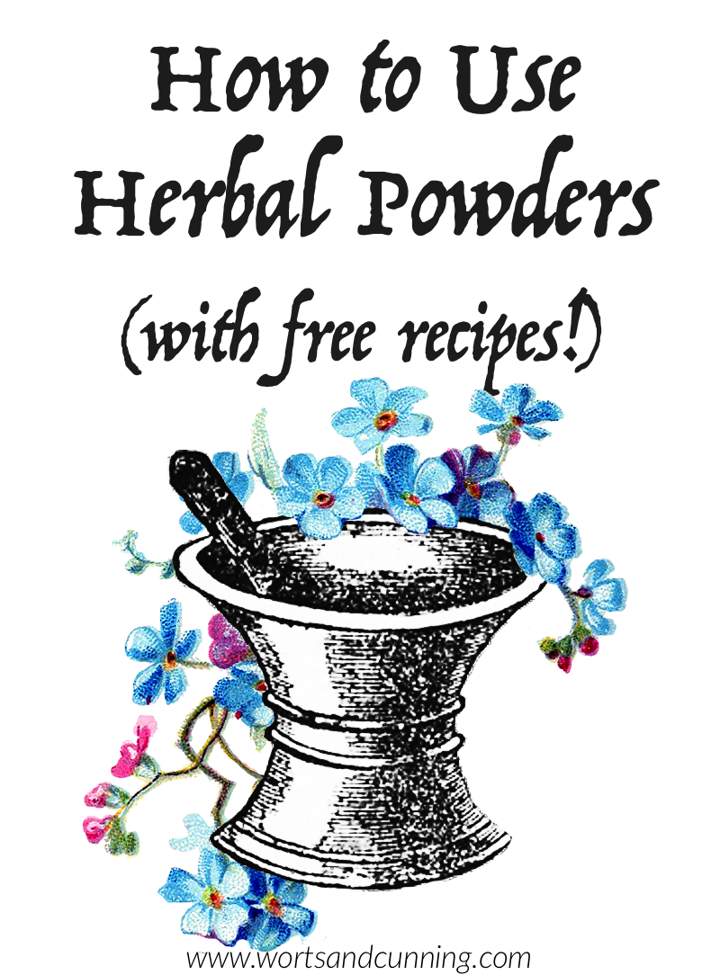 herbal powder recipes