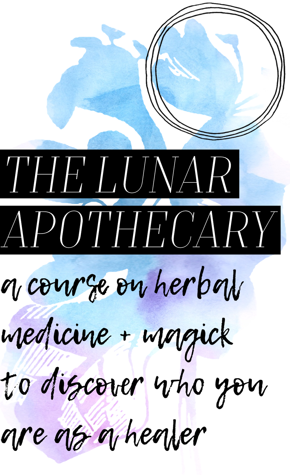 lunar apothecary astroherbology astroherbalism new moon