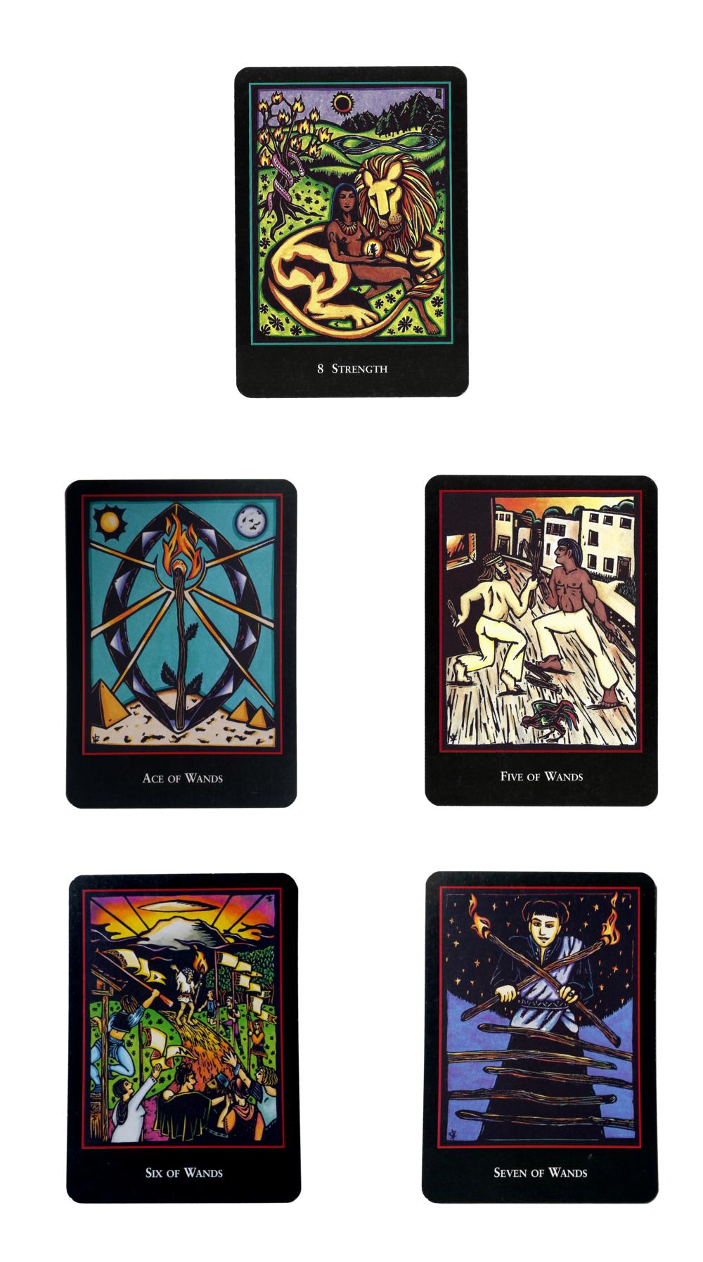 leo tarot cards
