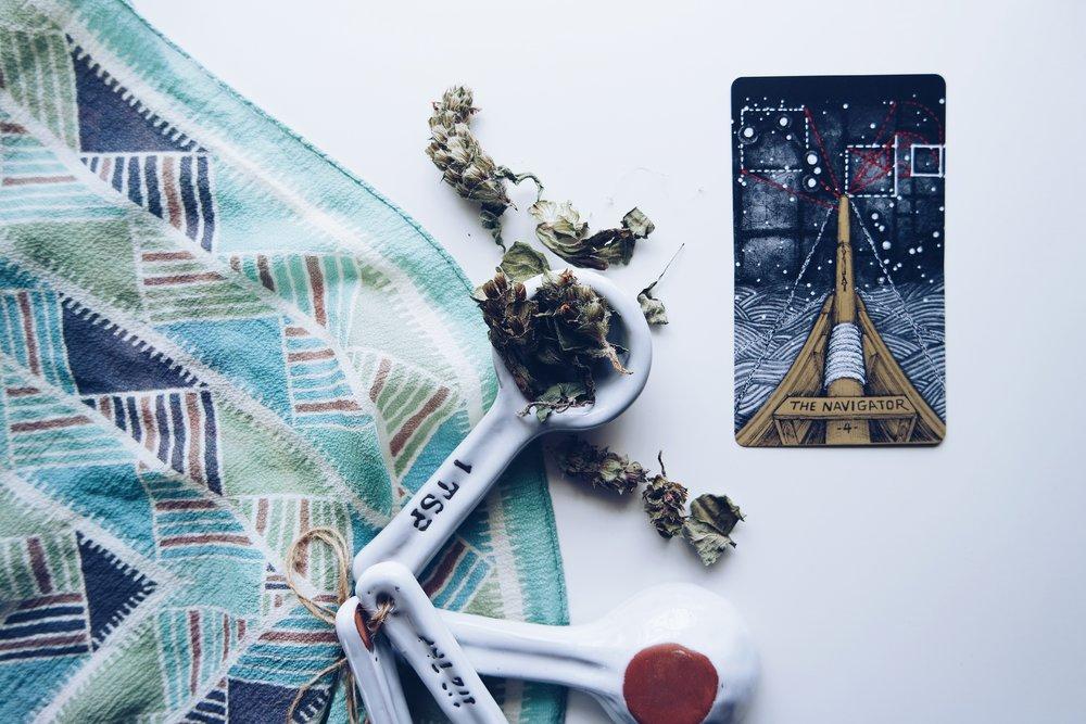 tarot herbal correspondences