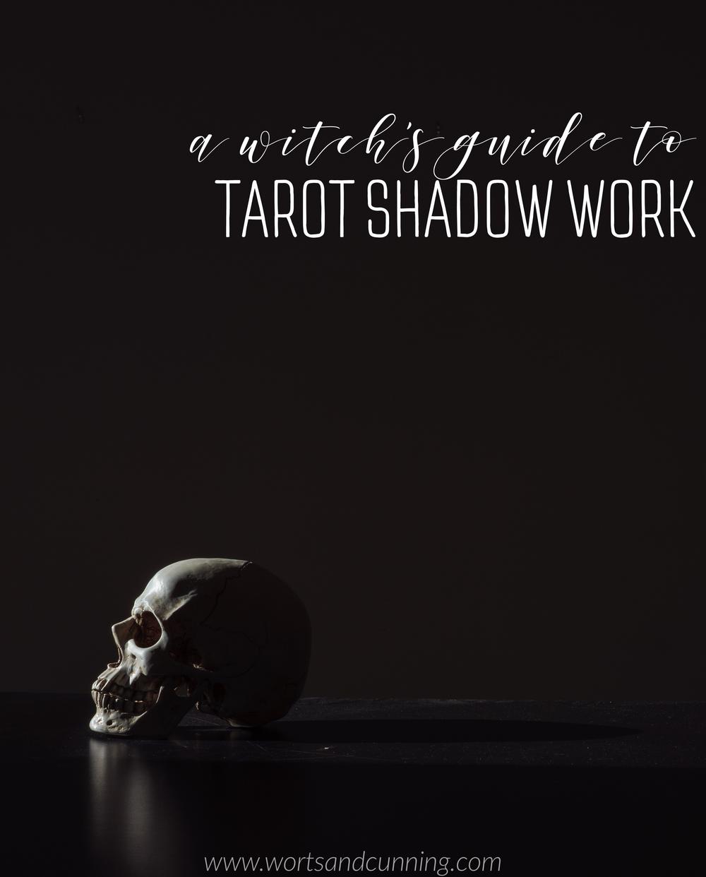 Between The Light An Introduction To Tarot Shadow Work Worts