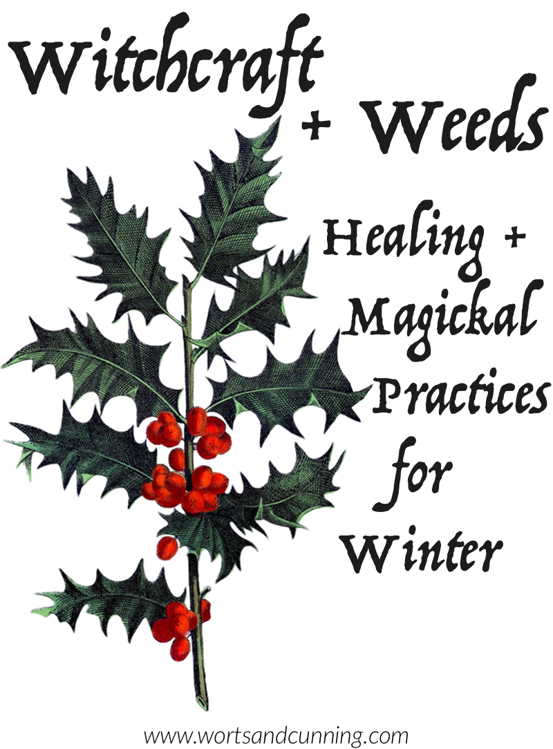 weeds witchcraft winter
