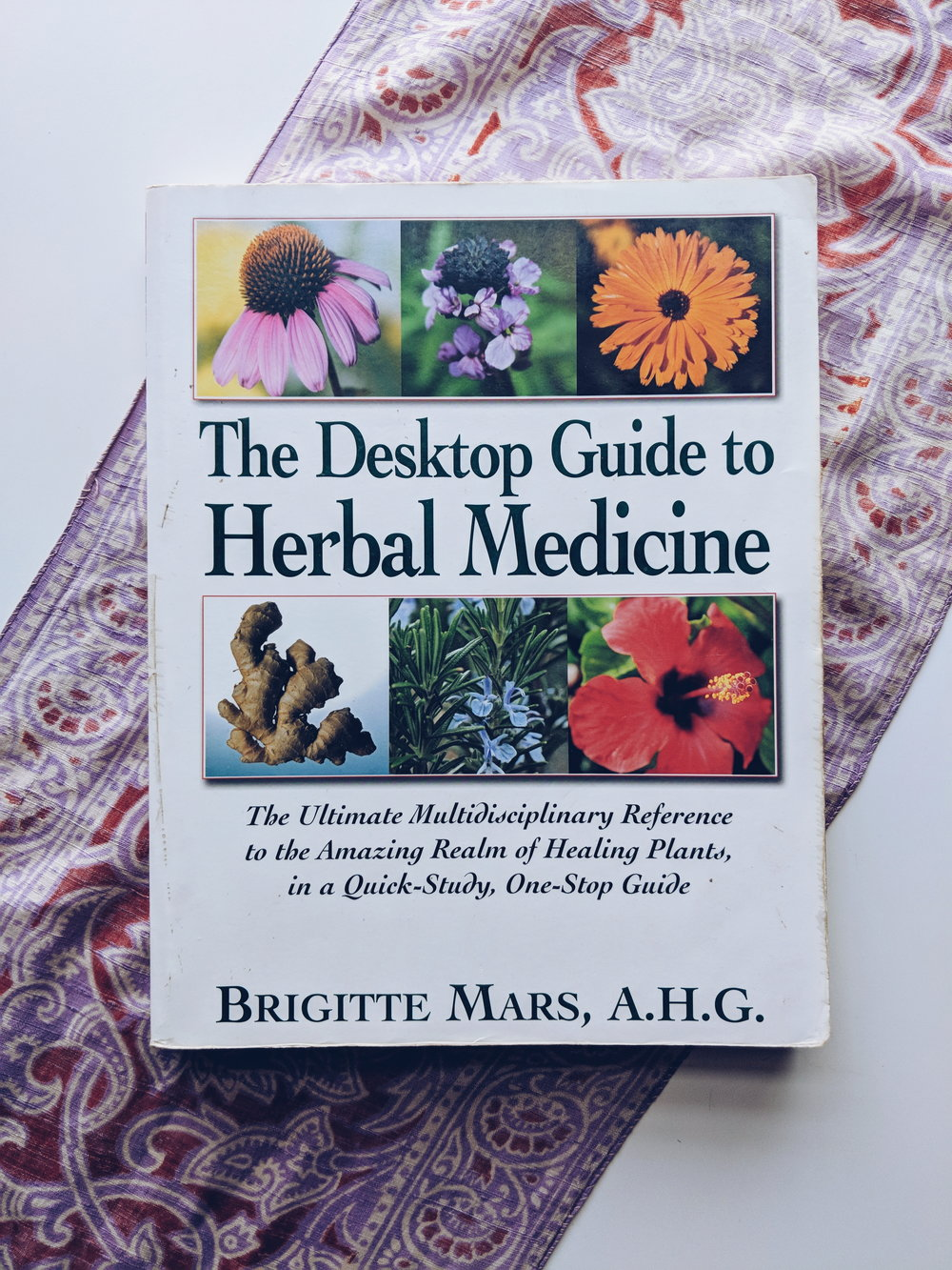Desktop guide to herbal medicine