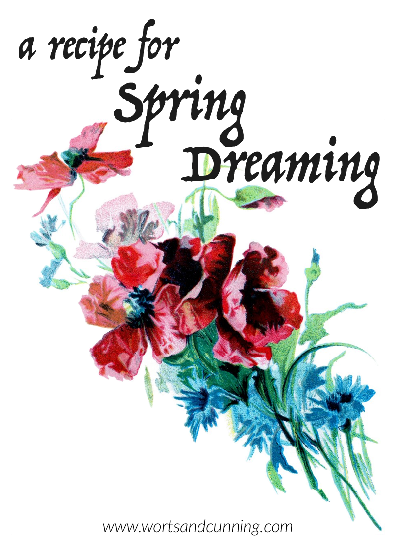 spring dream recipe