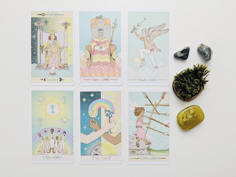 The Luna Sol Tarot  by Mike Medaglia