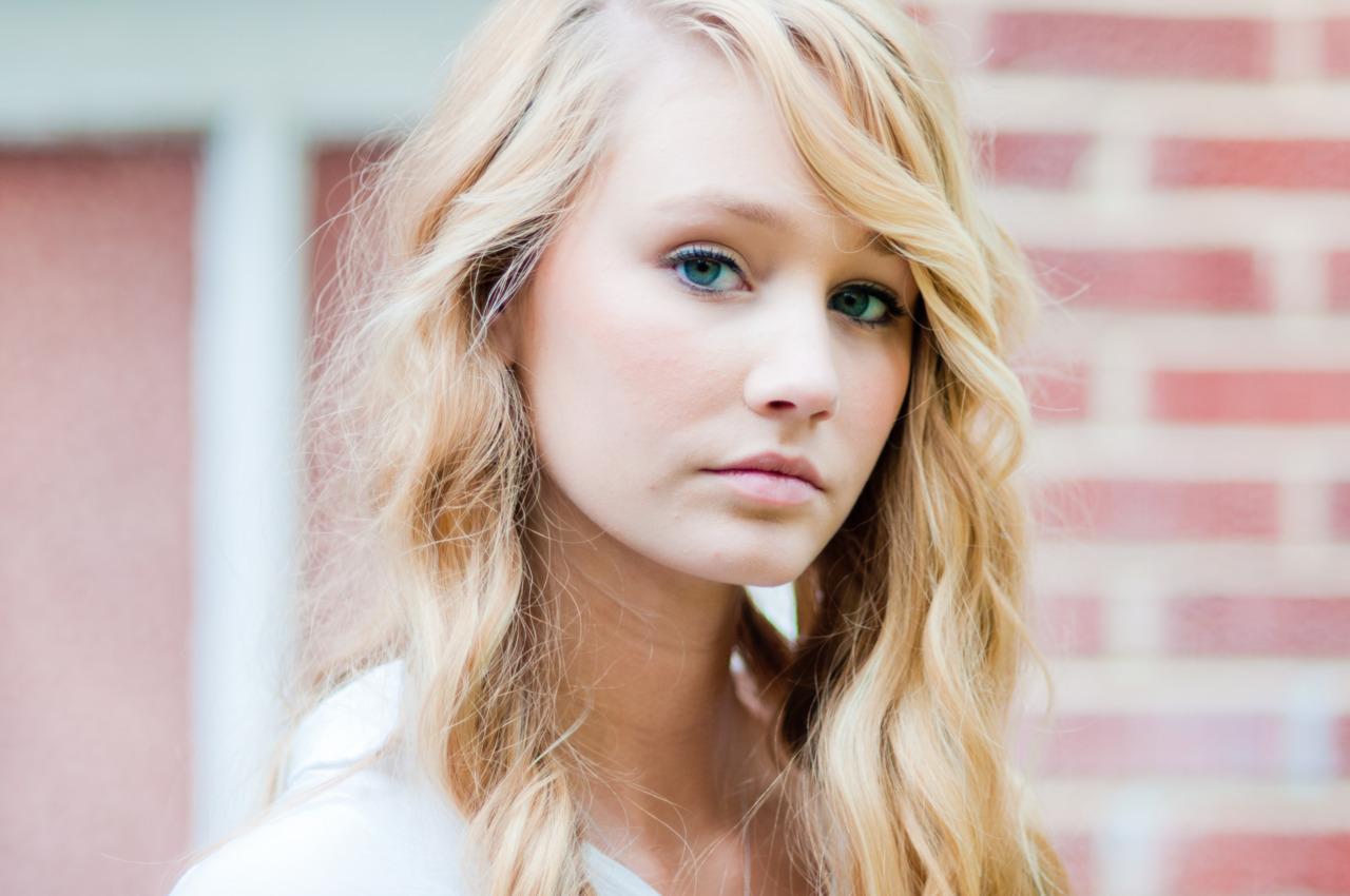 Skylar McCartney, 17, is a model with promient modeling agency Wilhelmina.