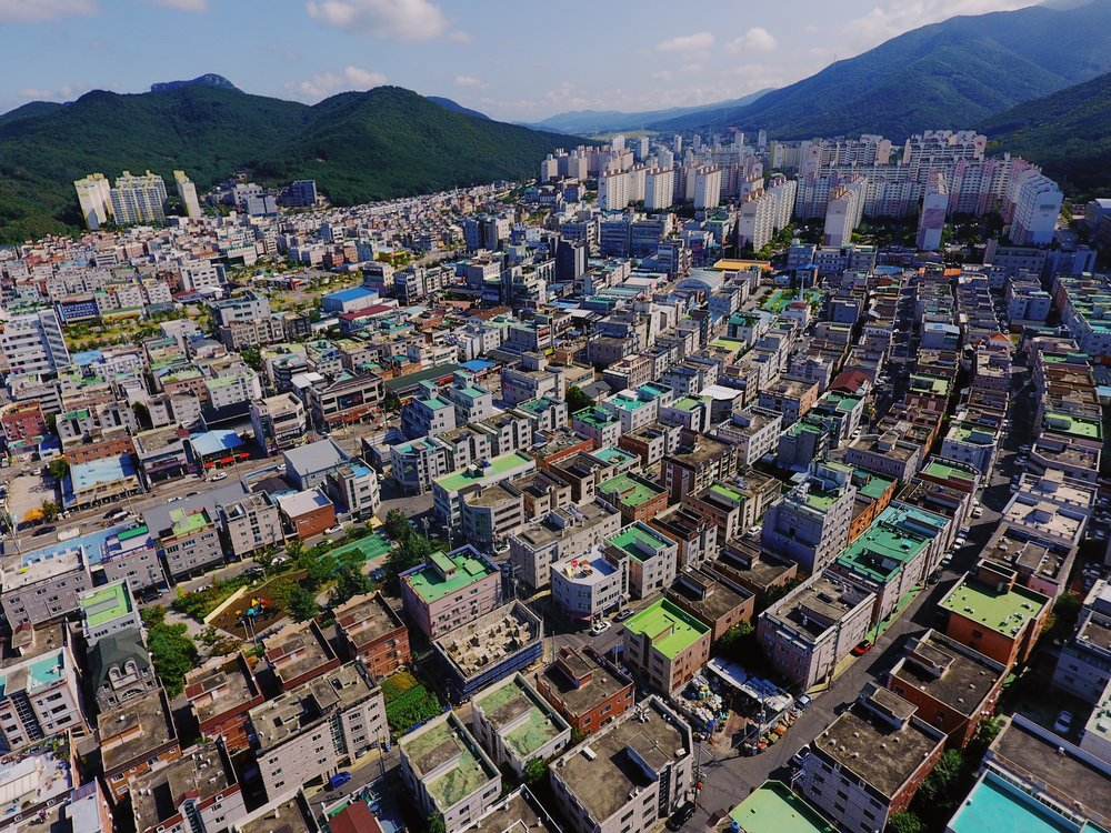 Above Jinpyeong-Dong