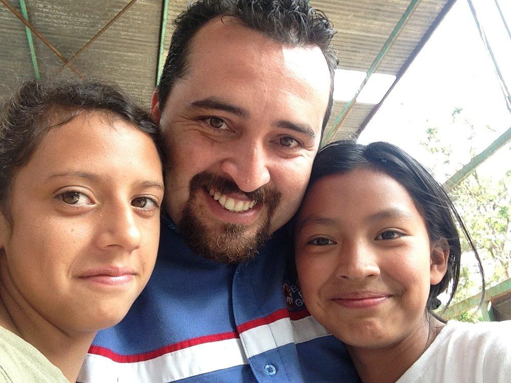 Jose with kids.JPG