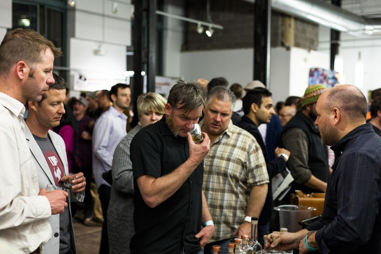 guests sample 40+ distilleries at the showcase