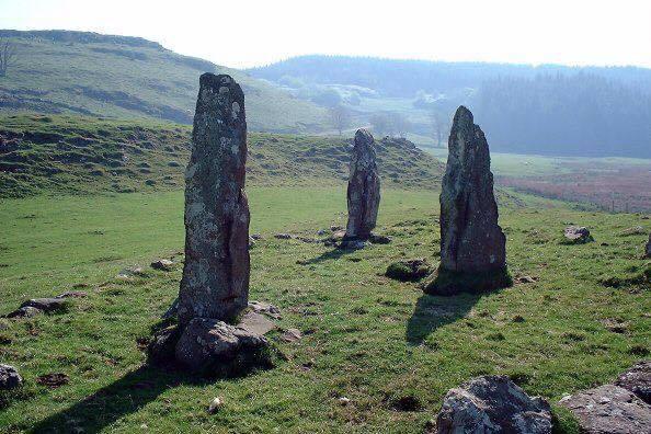 Isle of Mull - Standing Stones