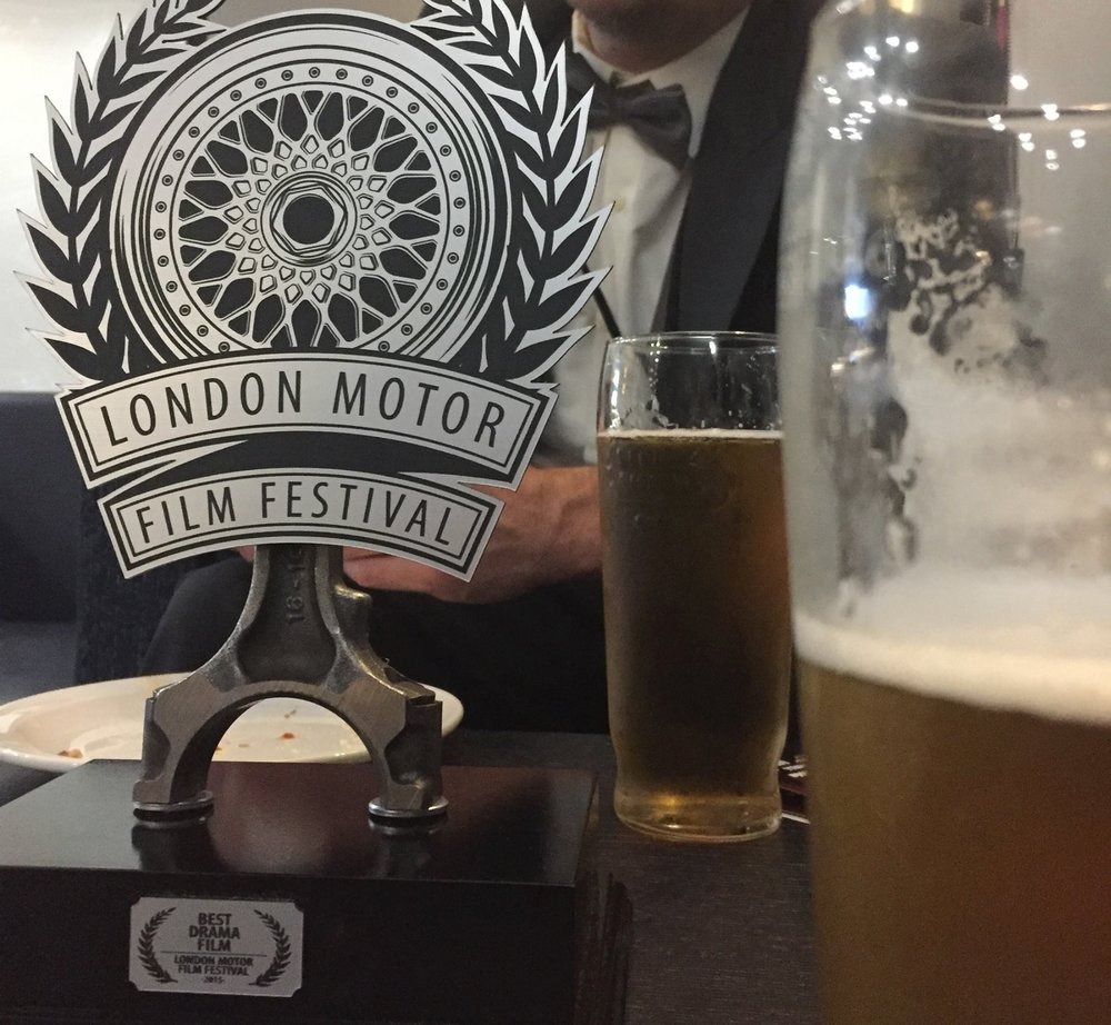 "In 2015 Phlewid Film's ""Motorcycle vs. Car Drift Battle IV"" picked up ""Best Drama"" at the prestigious London Motor Film Festival"