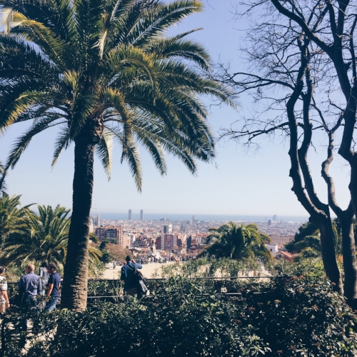 One Summer Day in Barcelona  -
