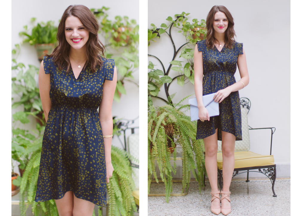 sophia reyes | Lynn Dot dress |