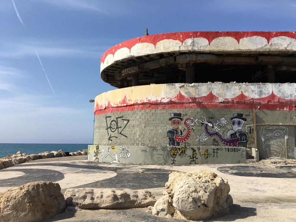 An abandoned sea life park